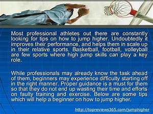 How To Jump Higher - Tips For Beginner