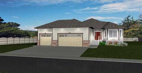 house plan  bungalow   car garage  edesignsplansca great curb appeal