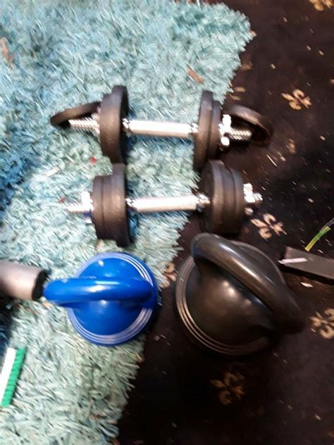 dumbbells kettlebells ended ad