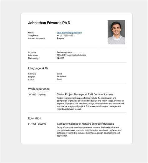 Cv Style by 5 Tips For Writing The Best Cv For The Market