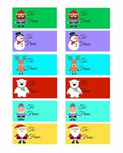 Pictures Of Christmas Gift Tags | New Calendar Template Site