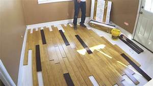 Bamboo flooring installation tips gurus floor for How to put down hardwood floors
