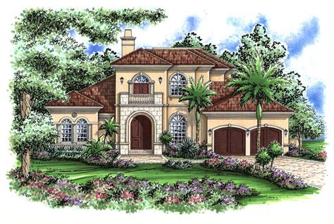 mediterranean house plan 64695 mediterranean mediterranean designs florida style home plans house Florida