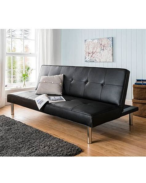 leather click clack sofa bed sienna faux leather click clack sofa bed oxendales