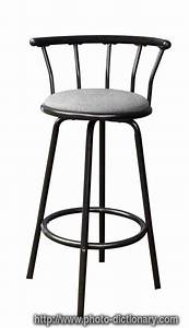 Bar Stool - Photo  Picture Definition At Photo Dictionary