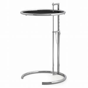 ClassiCon Adjustable Table E 1027 Beistelltisch Metall