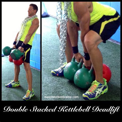 kettlebell double deadlift teens fitness dead workouts motivation stacked lift