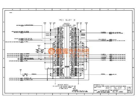 Computer Motherboard Circuit Diagram