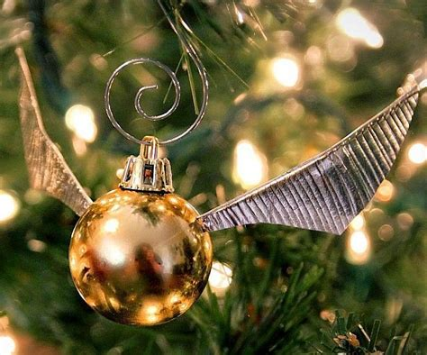 ufc christmas ornament this harry potter golden snitch tree decoration is the thing of dreams metro news