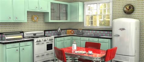 retro style kitchen cabinets how to create a retro kitchen 4834