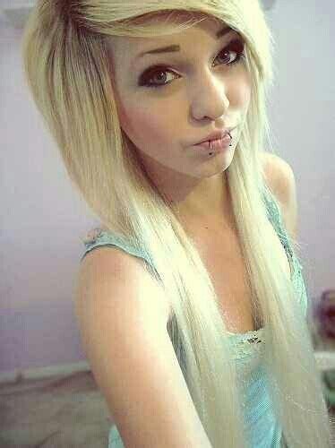 emo hairstyle  girls  long hair styles weekly