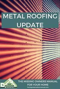 Metal Roofing Update