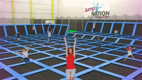 jump nation leisure centre  trafford park manchester uk