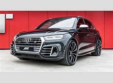 Audi SQ5 Dolled Up By ABT With Wide Body Kit And More
