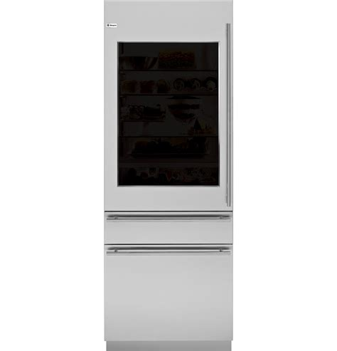 zikgnzii monogram  integrated glass door refrigerator  convertible drawer monogram