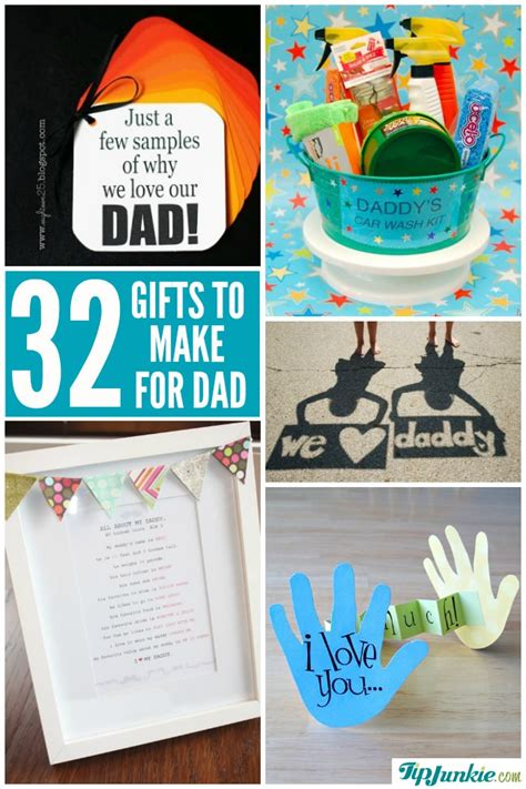 homemade fathers day gifts tip junkie