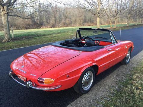 1969 Alfa Romeo Spider For Sale by 1969 Alfa Romeo 1750 Spider Veloce For Sale Classiccars