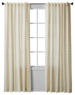 Window Panel Curtains Target by Nate Berkus Inca Print Window Panel Contemporary