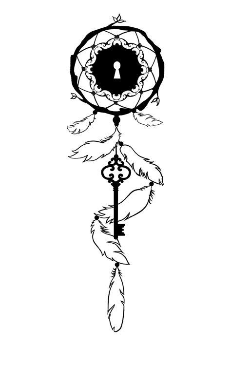 Design by Lori Burchfield. My dreamcatcher tattoo idea for