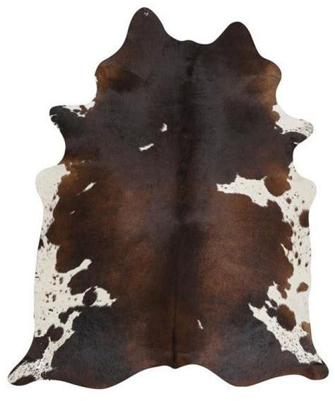 brown and white rug chocolate brown and white cowhide rug 2508321 weddbook