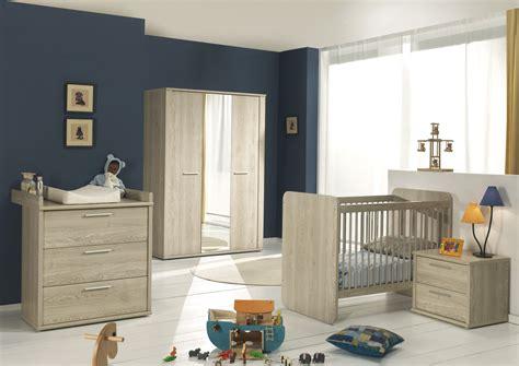 chambre b chambre bébé complète contemporaine chêne clair