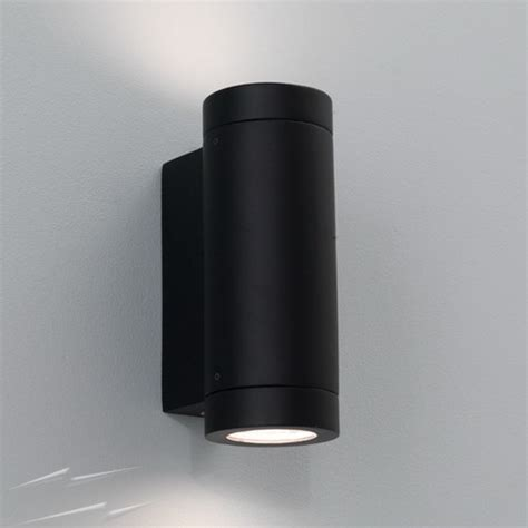 ax0626 porto plus outdoor wall light in black for