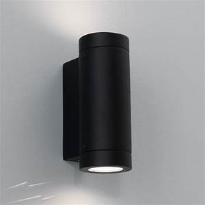 Up And Down Lights : ax0626 porto plus twin outdoor wall light in black for up and down lighting 2 x 7w ~ Whattoseeinmadrid.com Haus und Dekorationen