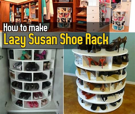 corner cabinet lazy diy how to lazy susan shoe rack diy craft projects