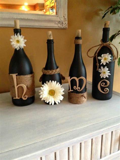 decorative wine bottles diy 25 best ideas about wine bottles on