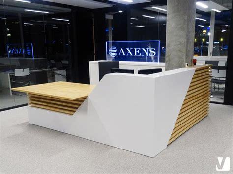 bureau banque mobilier de bureau en solid surface banque et tables