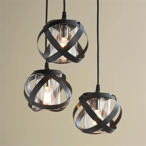 Galaxy Metal Ribbon Pendant Chandelier   Global