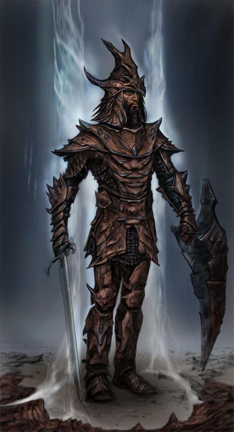 Skyrim · Dragon Armor By Adam Adamowicz Dragon Armor