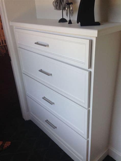 built in drawers in closet closet ideas