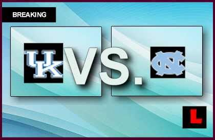channel   unc basketball game  tonight