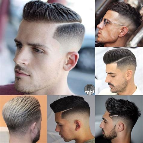Bald out base guide 2.5 on sides he raises the base guide bc client wanted flick with the 1.5 0 guard flick in first line. 35 Best Taper Fade Haircuts + Types of Fades (2020 Guide ...
