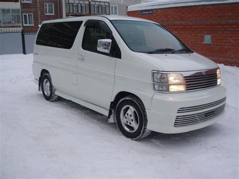 Nissan Elgrand Hd Picture by 2001 Nissan Elgrand Pictures 3000cc Diesel Automatic