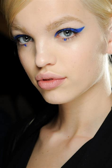 cool runway makeup   fall
