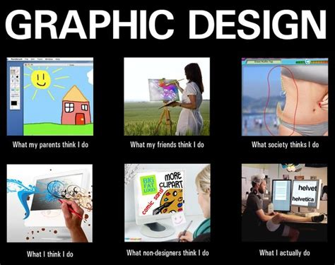 what does a graphic designer do what my friends think i do what i actually do graphic