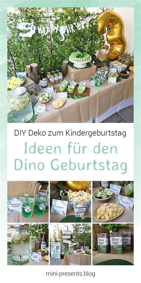 kindergeburtstag 2 jährige deko do it yourself deko f 252 r eine dino zum
