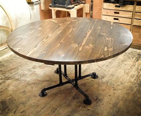 circle farmhouse table 1000 ideas about wooden dining tables on 2210