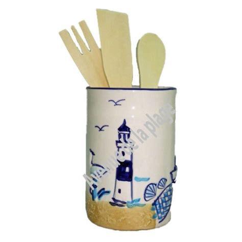 pot ustensiles cuisine pot en céramique porte ustensiles décoration de cuisine