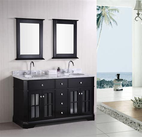 "Adorna 60"" Double Sink Bathroom Vanity Set"