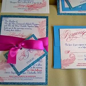 introductry price elegant glitter wedding invitation With wedding invitation suite cost
