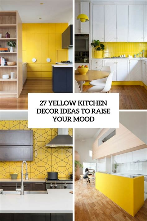 yellow accessories for kitchen 432 the coolest kitchen designs of 2017 digsdigs 1685