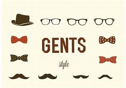 Hipster Vectors Vector Gentlemen Vecteezy Graphics Clipart