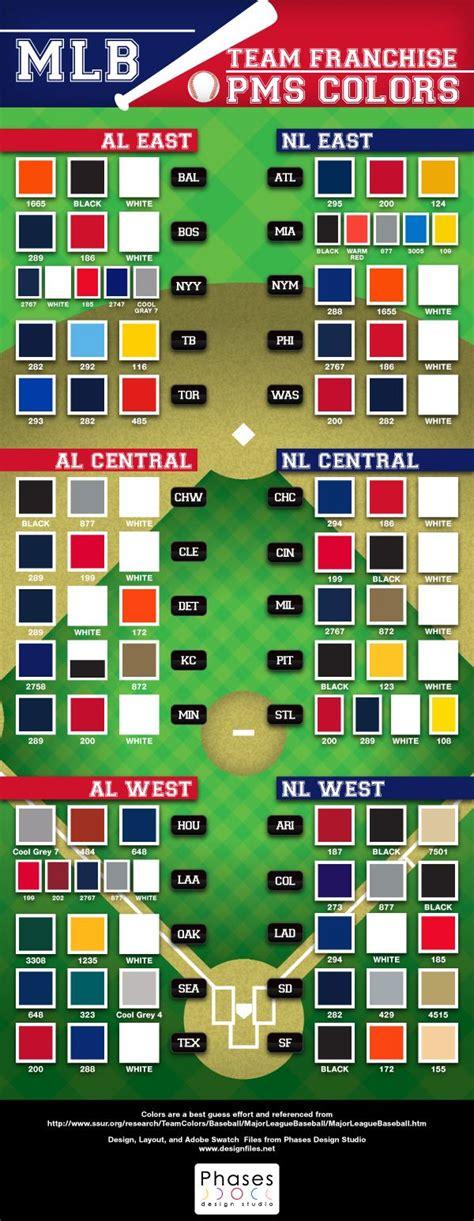 mlb team colors major league baseball pantone colors free goodies and