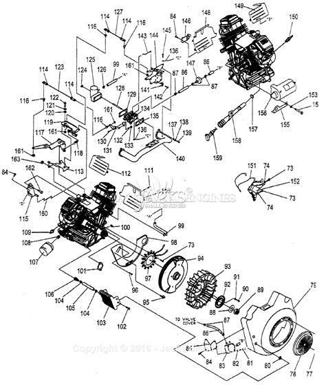 generac gtv 990 parts diagram for engine i
