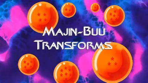 majin buu transforms dragon ball wiki fandom powered