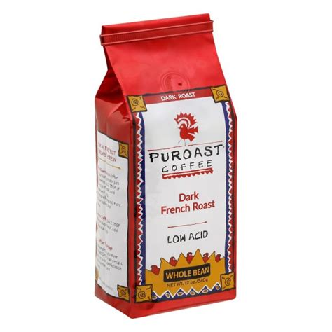 Let's have a look at the product reviews at amazon.com. Puroast Coffee Whole Bean Dark French Roast, 12.0 OZ - Walmart.com - Walmart.com