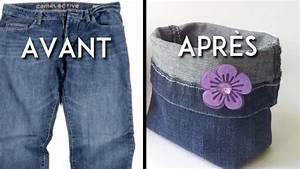 Que Faire Avec Des Vieux Jeans : ne jetez plus vos vieux jeans vous pouvez les transformer en paniers de rangement ~ Melissatoandfro.com Idées de Décoration